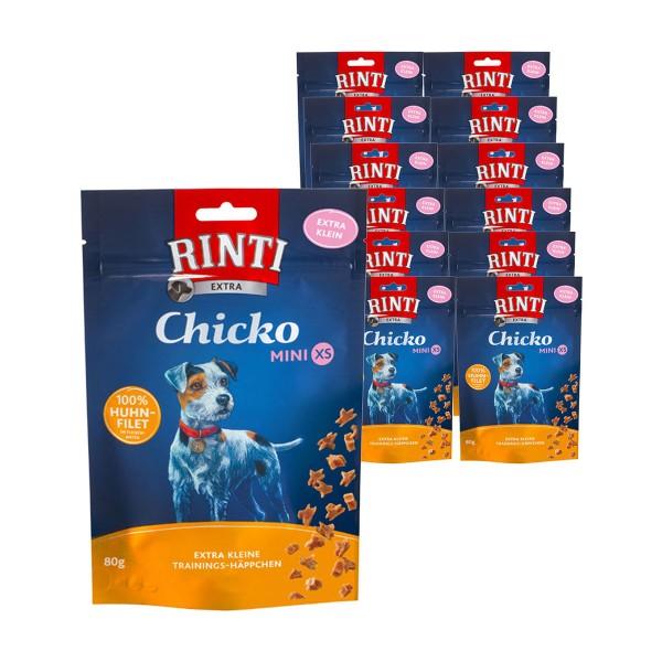 Rinti Extra Hundesnack Chicko Mini XS 12x80g