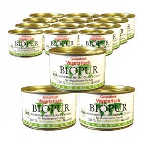 BIOPUR Bio Mix-Set Vegetarisch Reis, Dinkel, Kartoffel je 36x400g