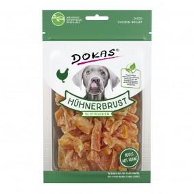 Dokas Hundesnack Hühnerbrust in Stückchen