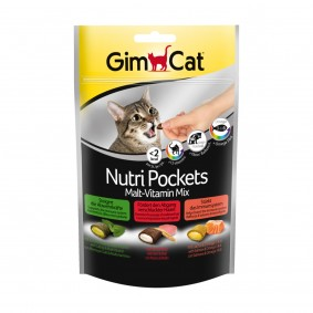 GimCat Nutri Pockets MaltVitamin Mix, 150 g