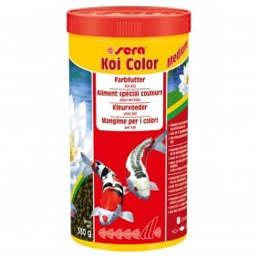sera Koi Color medium Granulatfutter 1 Liter
