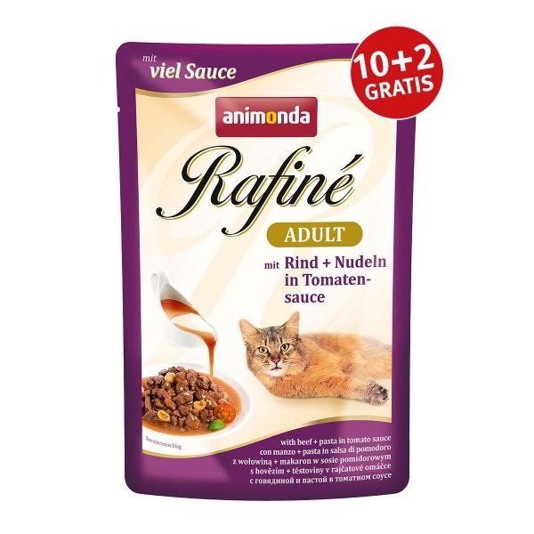 Animonda Rafiné Adult mit Rind & Nudeln in Tomatensauce