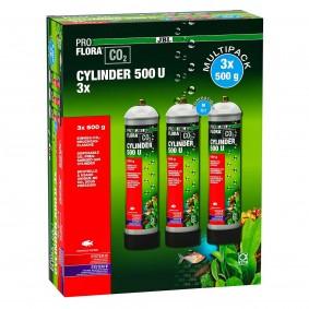 JBL PROFLORA CO2 CYLINDER 500 U (3er Vorteils-Pack)