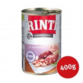Rinti Nassfutter Kennerfleisch mit Schinken
