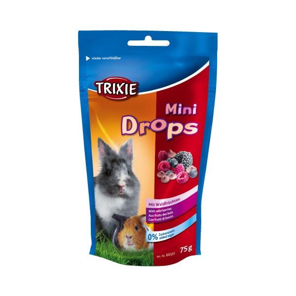 Trixie Mini Drops Kleintiersnack - Waldfrüchte