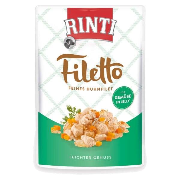 Rinti Filetto Huhn & Gemüse in Jelly