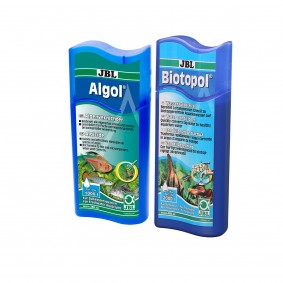 JBL Sparbundle Biotopol 500ml + Algol 250ml