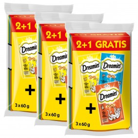Dreamies Katzensnack 6 plus 3 Gratis