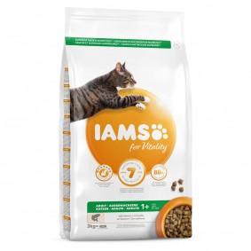 IAMS for Vitality ausgewachsene Katzen mit Lachs 3kg