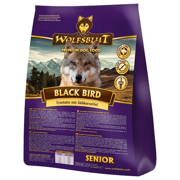 Wolfsblut Black Bird Senior - 2kg