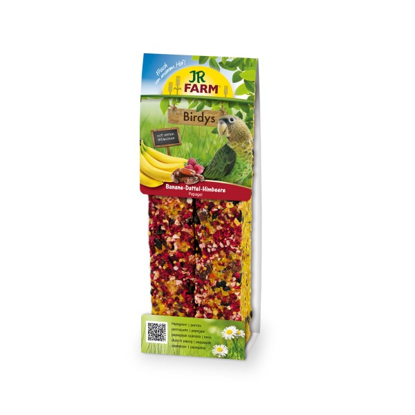 JR Farm Birdys Banane-Dattel-Himbeere 260g