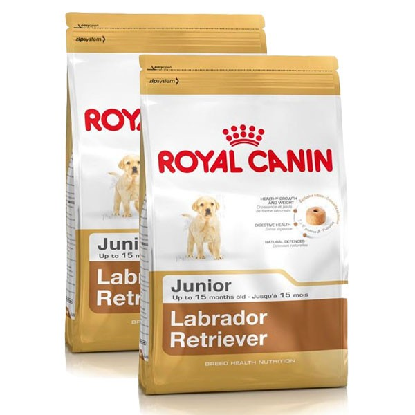 Royal Canin Hundefutter Labrador Retriever Junior 2x12kg