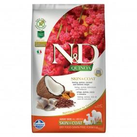N&D Dog Quinoa Skin & Coat Herring