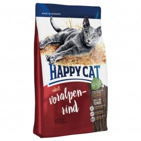 Happy Cat Supreme Adult Voralpen-Rind 3x4kg