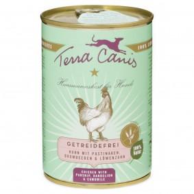 Terra Canis getreidefrei Huhn mit Pastinaken, Brombeeren und Löwenzahn