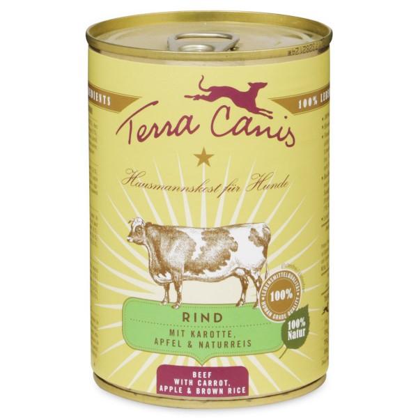 Terra Canis Rind mit Karotte, Apfel und Naturreis - 400g