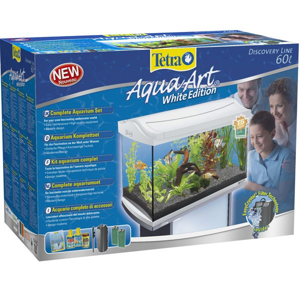 Tetra AquaArt Komplett-Set 60l weiß