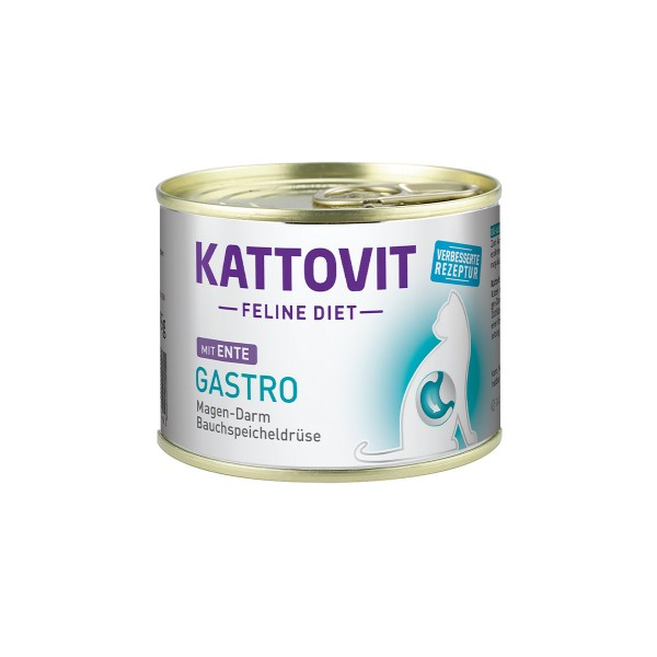 Kattovit Feline Diet Gastro Ente
