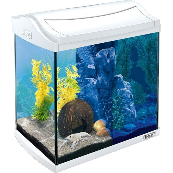 Tetra AquaArt LED Aquarium-Komplett-Set weiß - 30l
