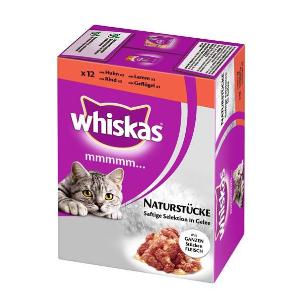 Whiskas Mmmmm Fleisch Saftige Selektion 12x85g Multipack