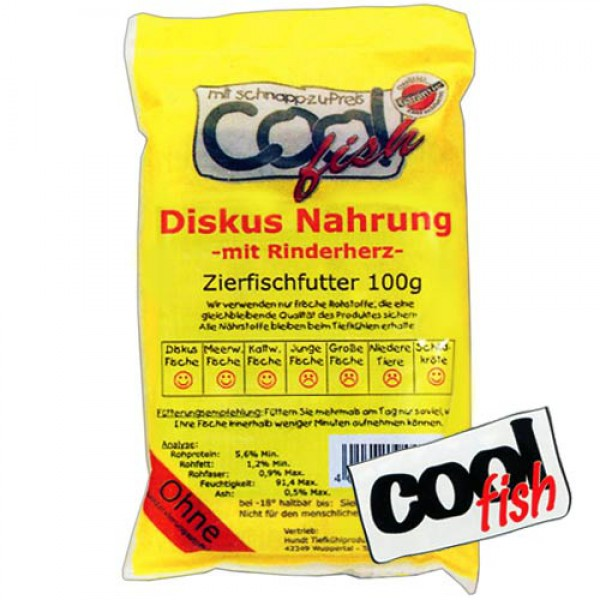 Cool Fish Frostfutter Diskus