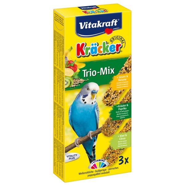 Vitakraft Kräcker Trio Banane Kräuter Kiwi 3 Stück