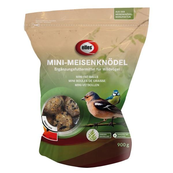 Haustier: elles Wildvogelfutter Mini-Meisenknödel Erdnuss 900 g
