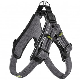 Hunter Geschirr Manoa Vario Quick Light mesh grau