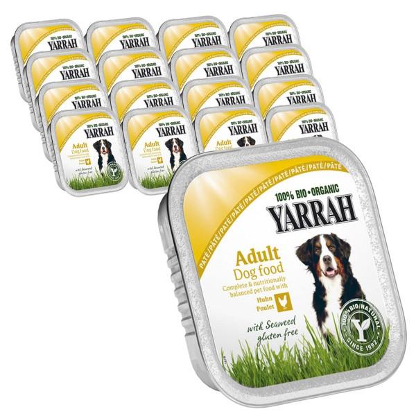 Yarrah Hundefutter Bio Pate 28x150g