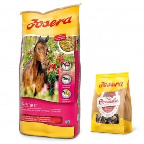 Josera Senior 20 kg + Pommelie gratis