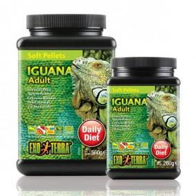 Exo Terra Soft Pellets Granulés mous pour iguanes adultes