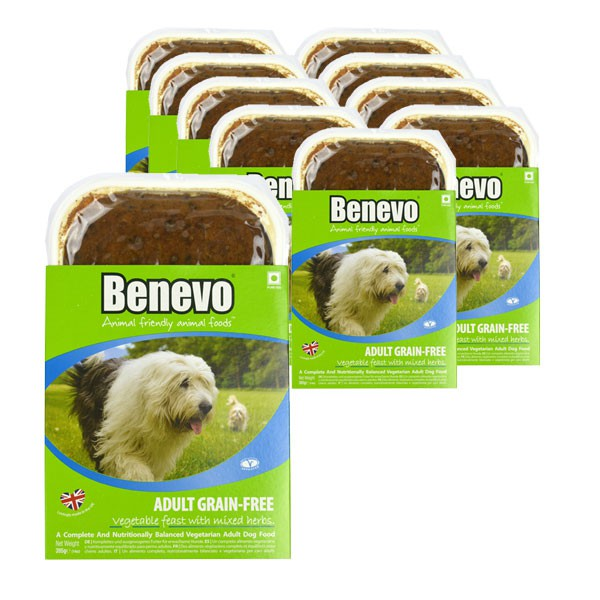 Benevo Hundefutter Adult Grain-Free Vegan 10x395g