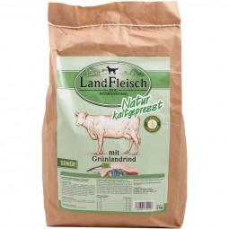 Landfleisch Dog Natur kaltgepresst Senior mit Grünlandrind