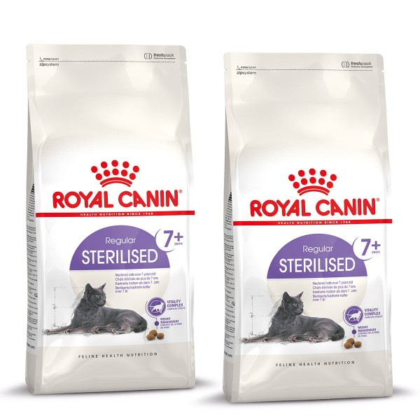royal canin katzenfutter sterilised 7 400g plus 400g gratis. Black Bedroom Furniture Sets. Home Design Ideas