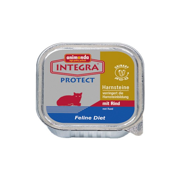 Animonda Integra Protect Struvit NassfutterRind 100g