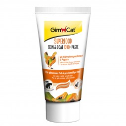 GimCat Superfood Skin&Coat DuoPaste mit Hühnchen & Papaya