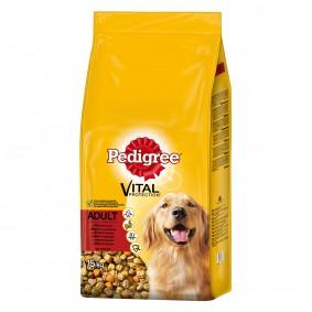 Pedigree Hundefutter Adult Rind und Gemüse