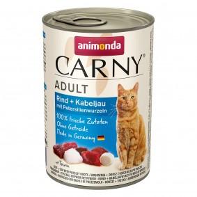 Animonda Carny Adult s hovězím masem, treskou obecnou a kořenovou petrželí