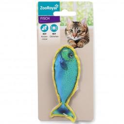 ZooRoyal Fisch mit Katzenminze & Glöckchen