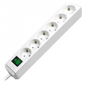 Brennenstuhl Eco-Line 6-fach Steckdosenleiste mit Schalter