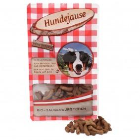 Hundejause Hundesnack Bio JausenWürstchen 90g