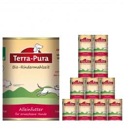 Terra Pura Hundefutter Bio-Rindermahlzeit