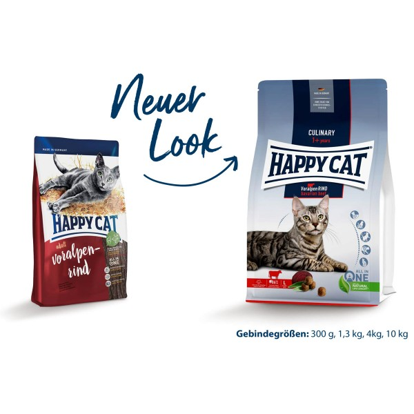 Happy Cat Culinary Adult Voralpen Rind