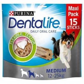Purina DentaLife snack pro každodenní péči o chrup pro středně velké psy Maxipack