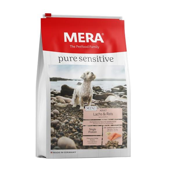 MERA pure sensitive Trockenfutter MINI Lachs&Reis