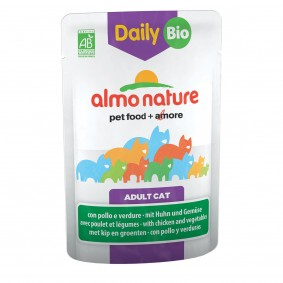 Almo Nature Daily Menu BIO Cat mit Huhn und Gemüse
