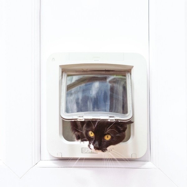 sureflap mikrochip haustierklappe connect. Black Bedroom Furniture Sets. Home Design Ideas