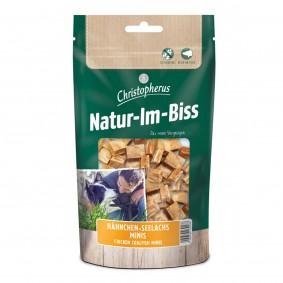 Christopherus Genießersnack Natur-Im-Biss Hähnchen-Seelachs Minis 70 g