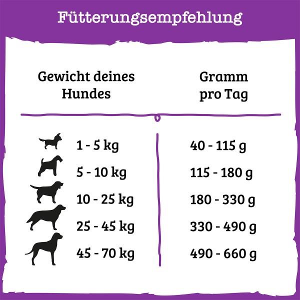 PURINA BENEFUL Glückliche Jahre 7+ Senior Hundetrockenfutter mit Huhn & Gartengemüse