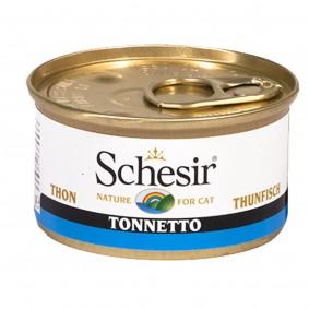 Schesir Katzenfutter Thunfisch in Gelee